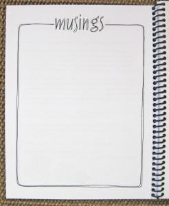 MusingsPage