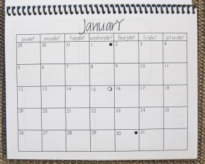 month-page